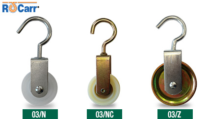 Nuova serie 03 - carrucole con gancio / pulley with hook